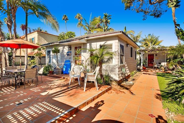 OB Palms, tropical gardens, spa and dog bath in Ocean Beach,