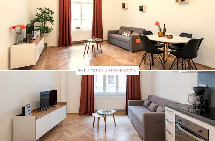 ❤️️pragueforyou❤️️ Lovely central apartment