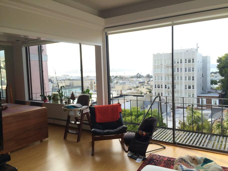 City and Bay Views
