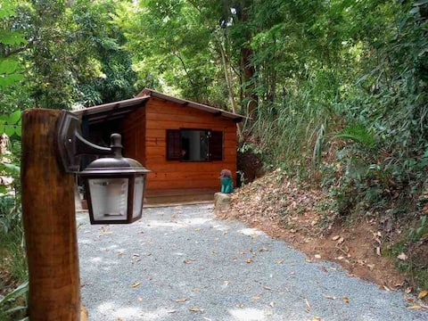 Cabana rústica Alberto Torres- Areal