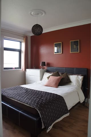 Homely double bedroom