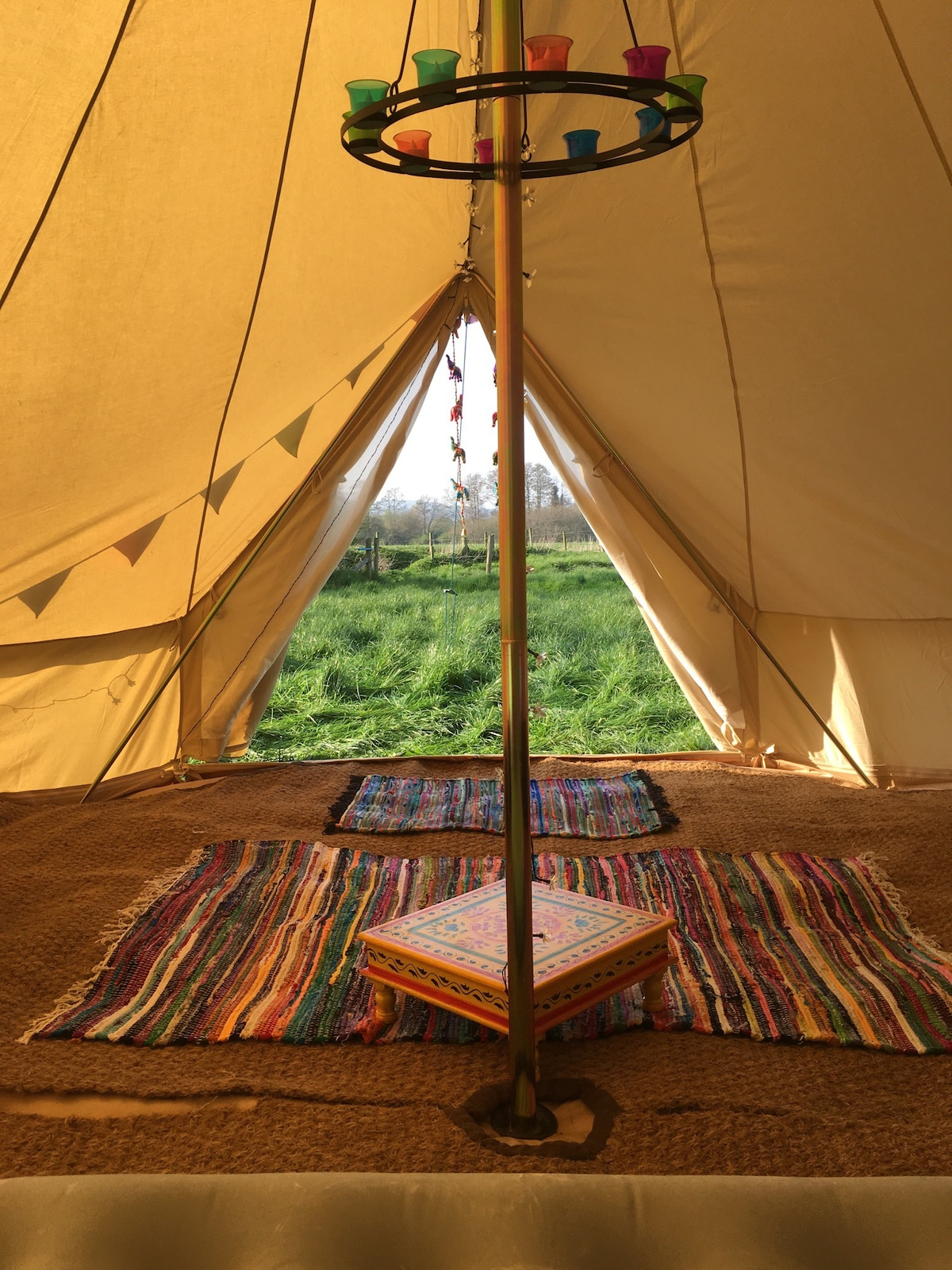 View Photos & Luxury 5 Meter Bell Tent - Tents for Rent in Selham England ...