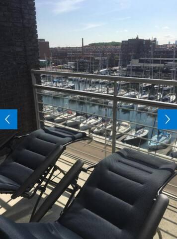 Fantastic Harbour view apartment Scheveningen