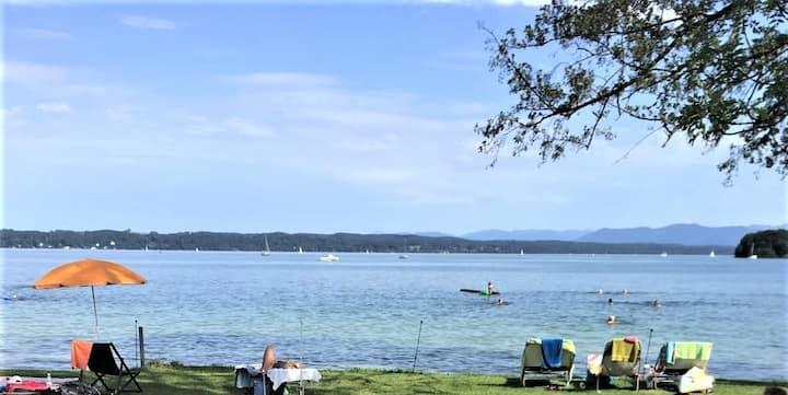 Großzügiges Ferienhaus am Starnberger See