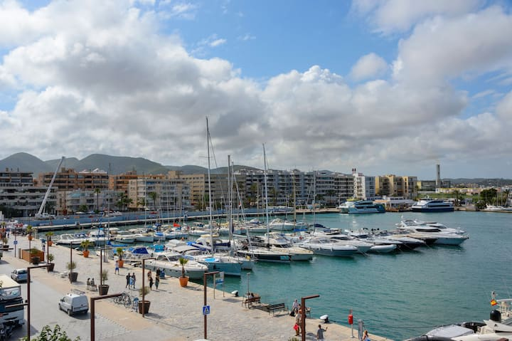 Ibiza Port Lovely Sea View Apartment!! 3A