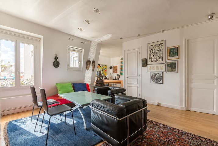 Reach the Eiffel Tower on foot from 2 BR, Veeve