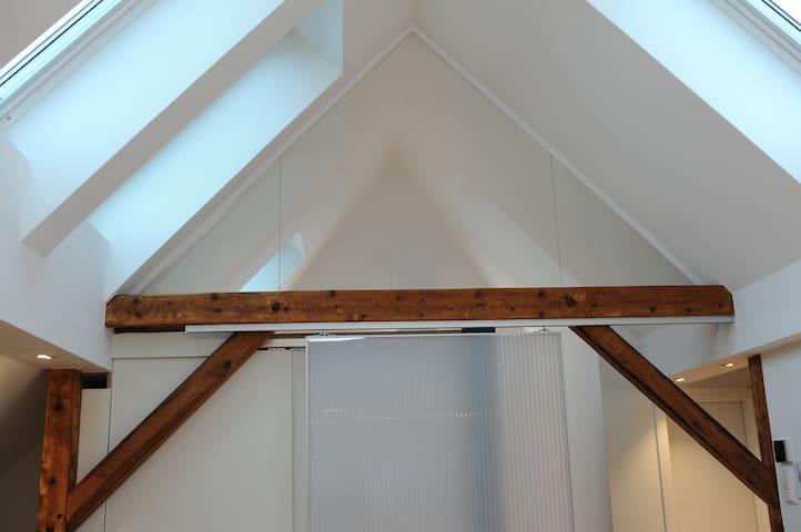Dachgeschosswohnung mit Charme