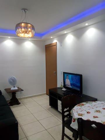 Apartamento 2 qts, lazer completo e segurança 24h