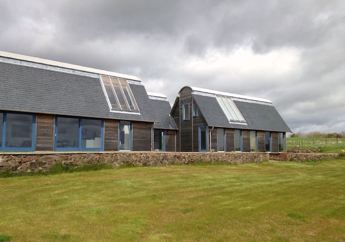Modern Home Overlooking Lunan Bay - Arbroath - Dom