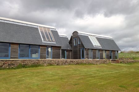 Modern Home Overlooking Lunan Bay - Arbroath - Hus