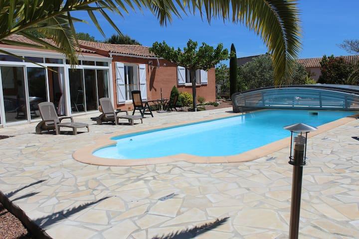 Maison avec piscine privée Languedoc Roussillon - Mirepeisset - House