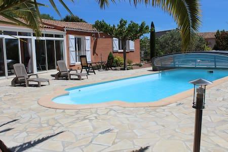 Maison avec piscine privée Languedoc Roussillon - Mirepeisset