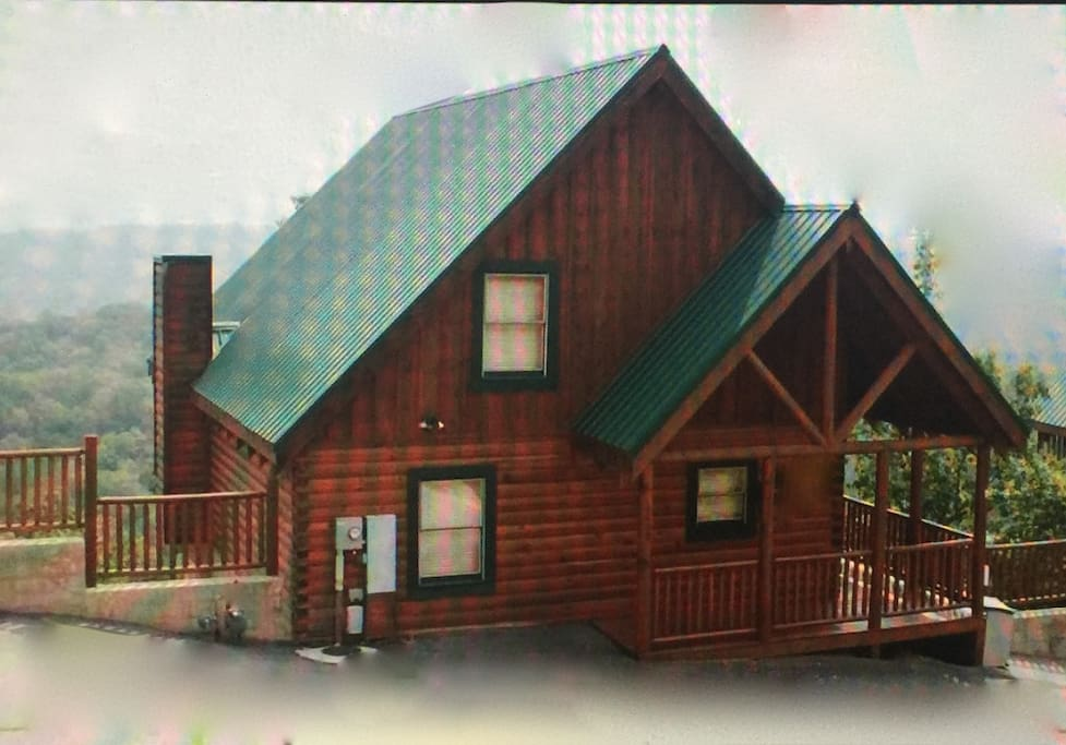 The highlander oh the views chalet in affitto a for Cabina di brezza autunnale gatlinburg