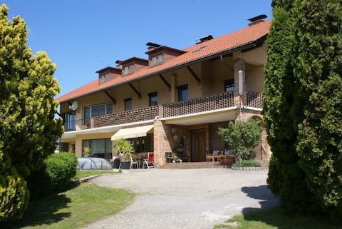 Apartment mit Balkon für 2 - 3 Personen