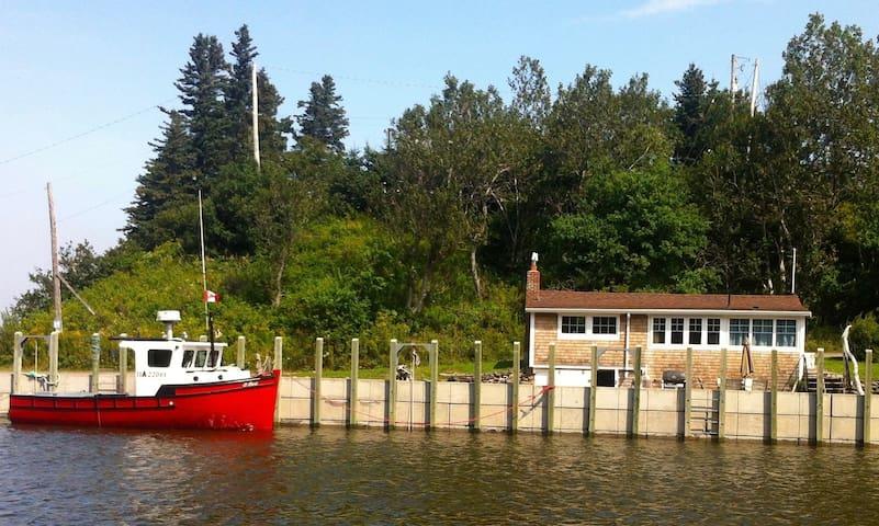 Emma's Garden Oceanfront Harbourville, Nova Scotia