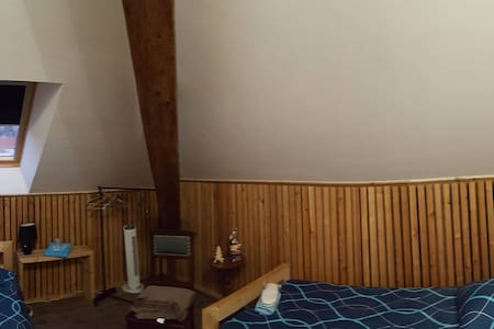 Chambre Twin ou modifiable couple - Sainte-Marie-aux-Mines