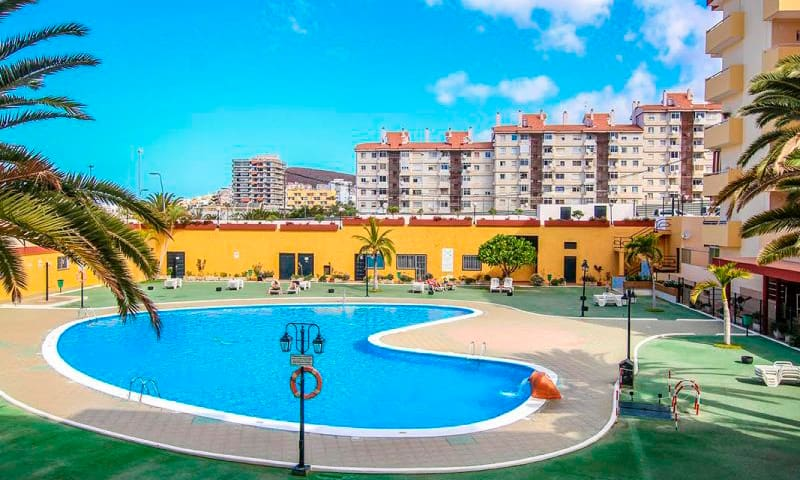 Nice apartament in Los Cristianos with pool & WiFi