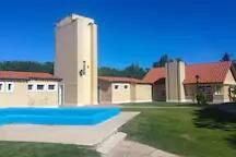 Piscina y Vestuarios Club House