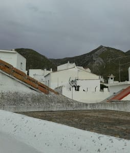 Casa plaza, en pueblo andaluz - istan