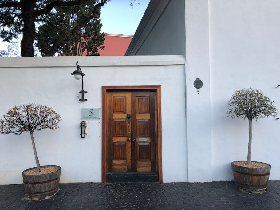 Street Gate entrance