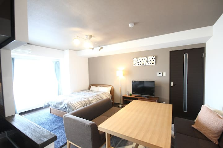 2bedroom Private  Sapporo Sta. Beer Museum (802)