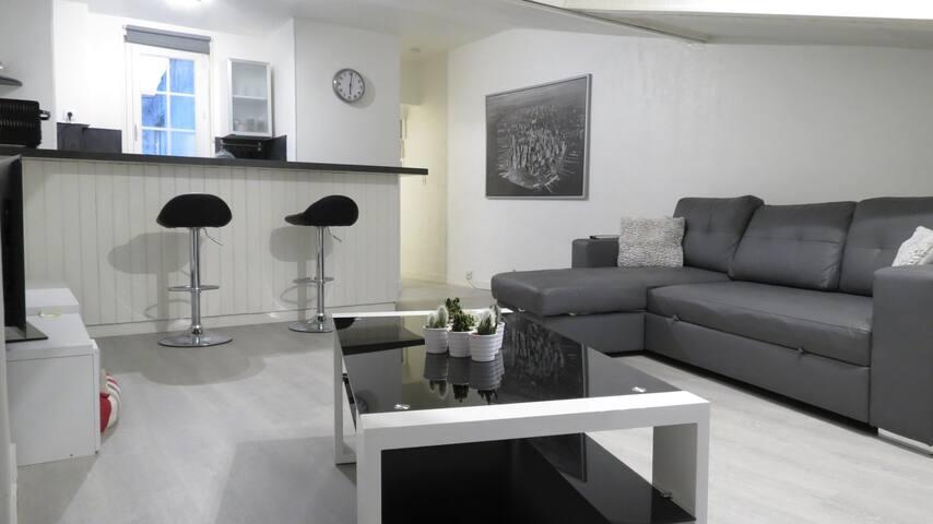 Appartment in the center of La Rochelle