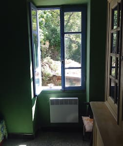 "I call this Bedroom ""Green Bedroom"" - Marignana"
