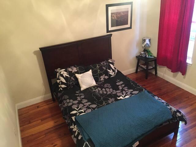 Private bedroom & bath,rooftop deck - Baltimore - Ev