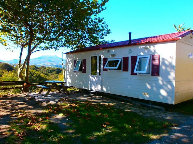 Mobil home pays basque camping Manex