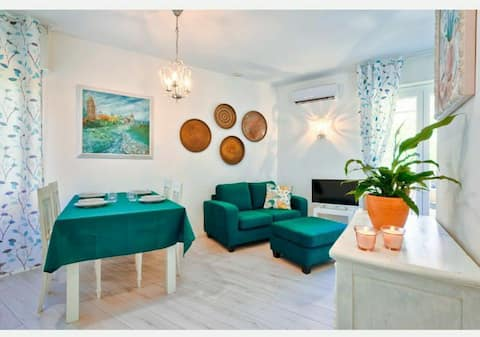Elegant appartement in het hart van Bibione pineta