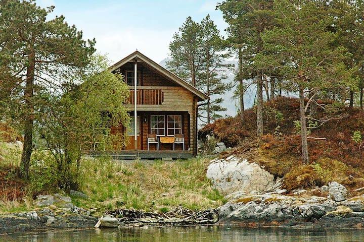 5 Personen Ferienhaus in VÅGLAND