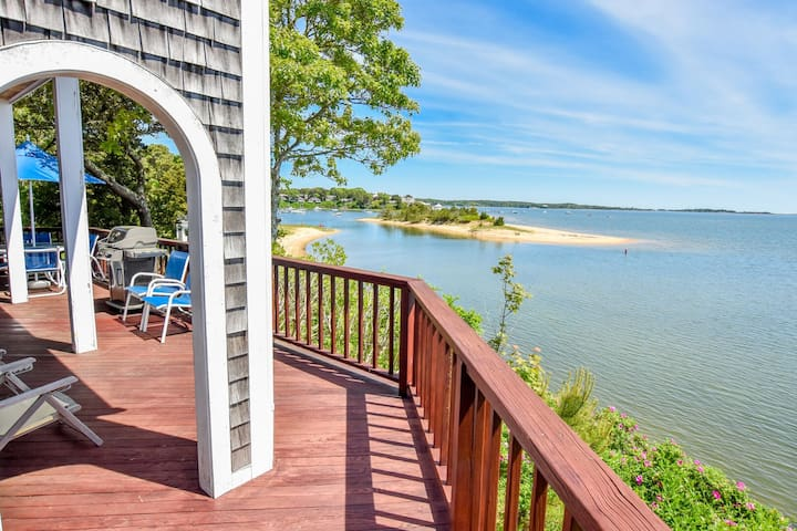 #711: Waterfront on Pleasant Bay w/ Direct Beach Access! Stunning Views!