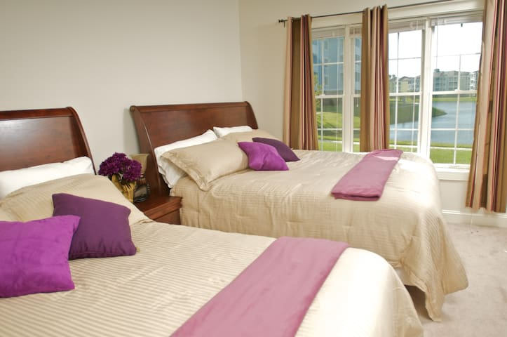 1 KING size bed plus 1 single bed