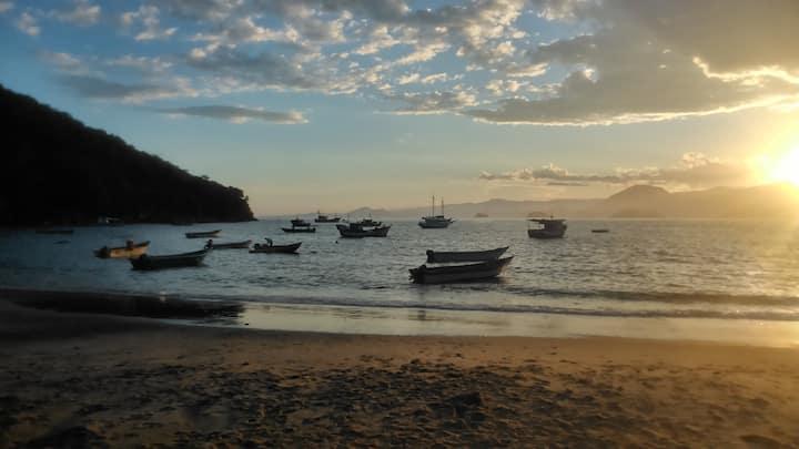 Sobradinho Picinguaba, pé na areia
