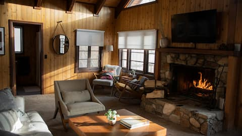 Cabin' A Good Time: Renovated Cozy A-Frame Cabin + Hot Tub