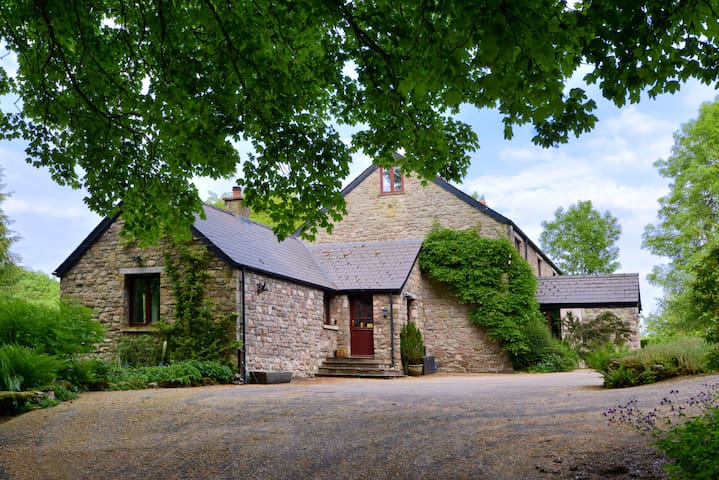 Adjoined Stone Cottage Wye Valley (Five Springs) - Whitebrook - Dům