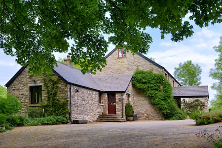 Adjoined Stone Cottage Wye Valley (Five Springs) - Whitebrook - Hus