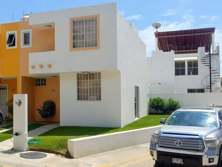 3 bedrooms house in gated community