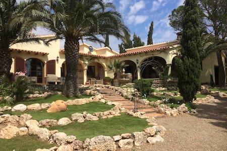 Vrijstaande villa met tuin en patio - L'Hospitalet de l'Infant - 別荘