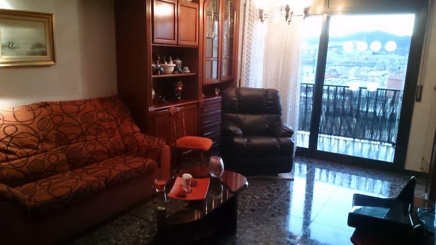 habitacion sencilla con una cama - Santa Coloma de Gramenet - Apartment