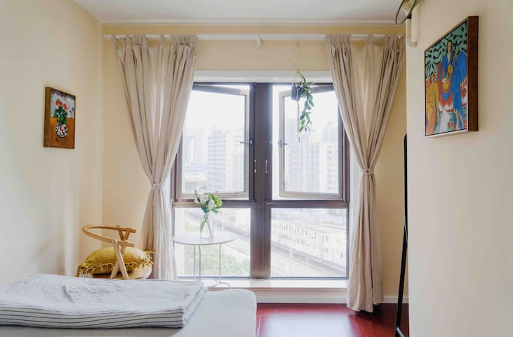 Shared Loft near Shanghai Rail Station line1/3/4