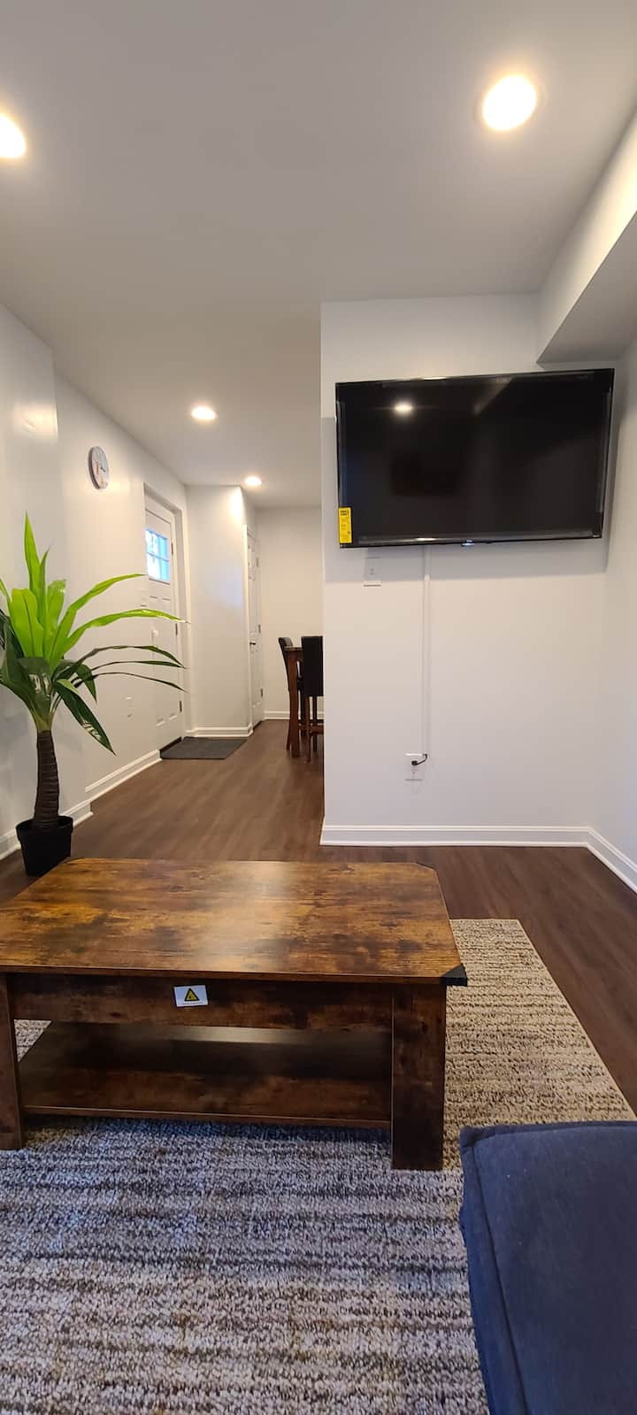 Entire Apt+5Miles from EWR+Parking+ Prudential+ NY