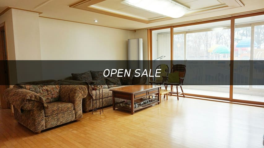 MODERN COZY SAFE APARTMENT NEAR BUS & SUBWAY - Gwangju - Lägenhet