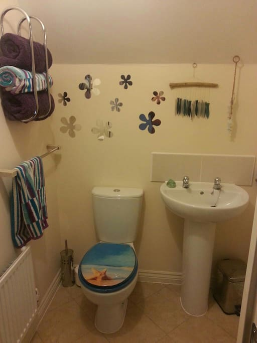 Private use of a toilet and shower room