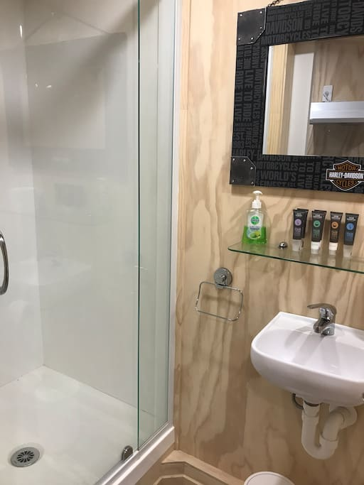 Your private shower