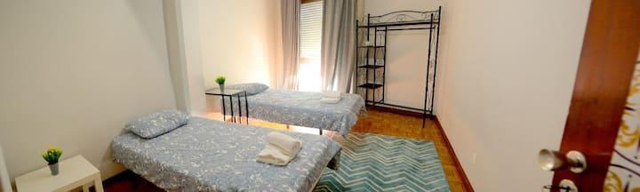 Twin room near Boavista