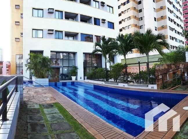 PROMOÇÃO - Apartamento 2/4 com piscina e academia
