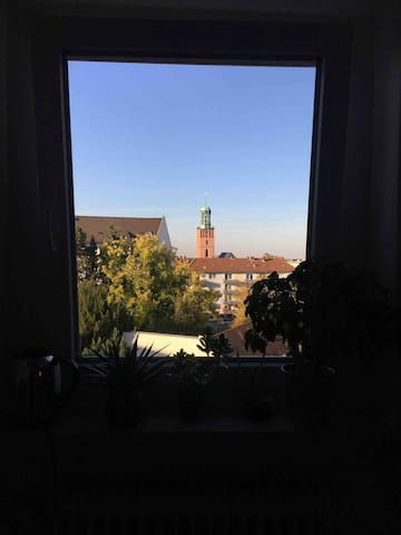 Gemütliches Zimmer im Herzen von Darmstadt
