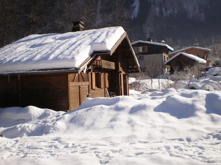 Nice Chalet with fantastic view of Mont-Blanc