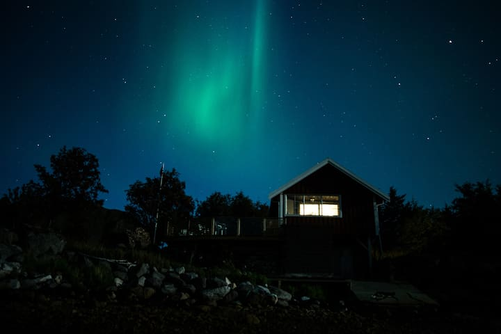Cabin by the sea with amazing view